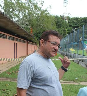 Galba Coelho, secretário da Semel (Foto: Abdias Bideh/GloboEsporte.com)