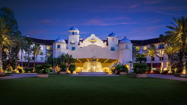 Hard Rock Hotel em Orlando (Foto: Divulgação)