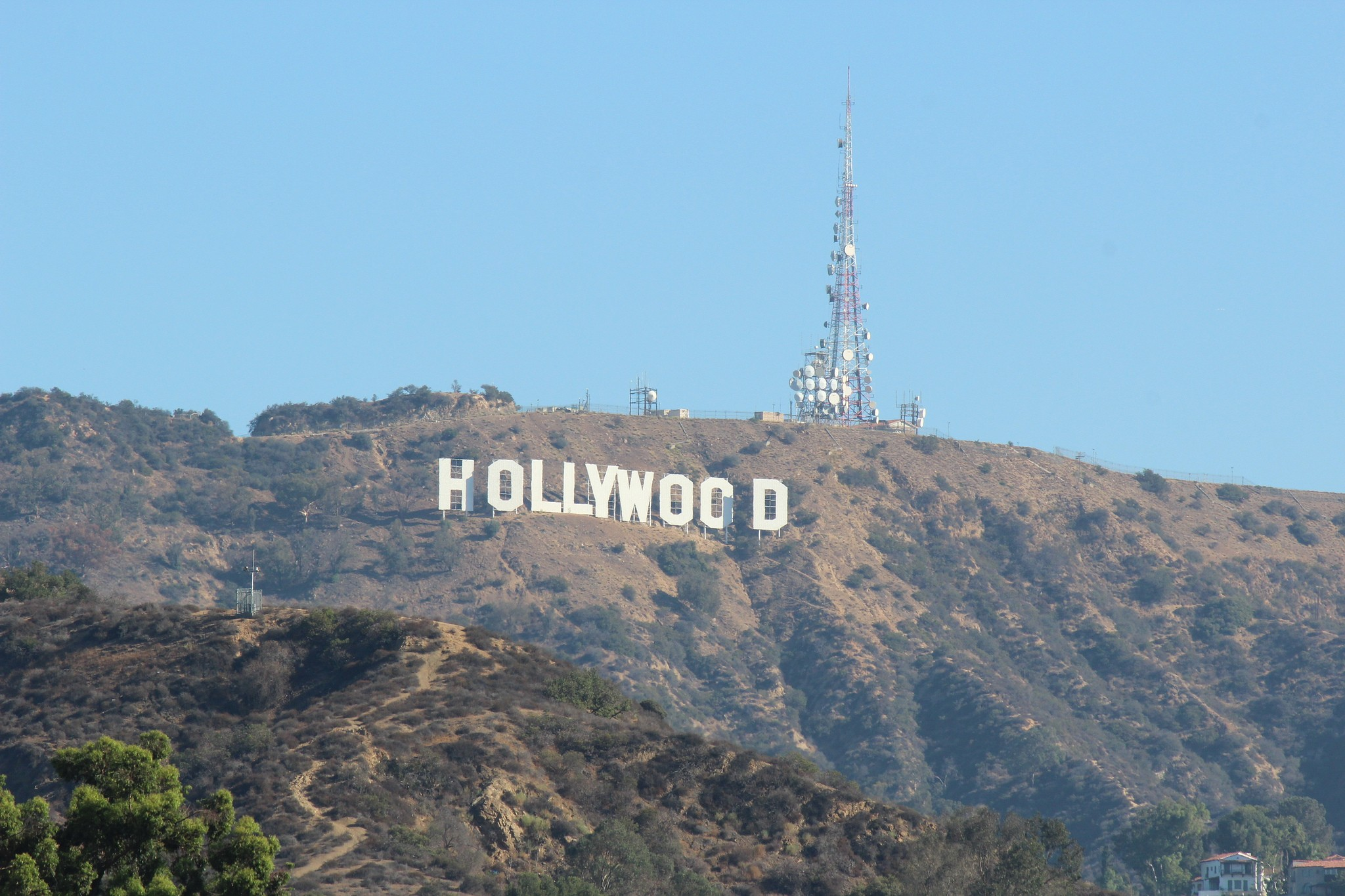 Sinal de Hollywood em Los Angeles, na Califórnia (Foto: Flickr/Shinya Suzuki)