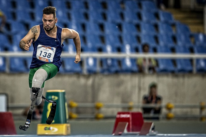 Alan Fonteles evento-teste atletismo paralímpico (Foto: Marcio Rodrigues/MPIX/CPB)