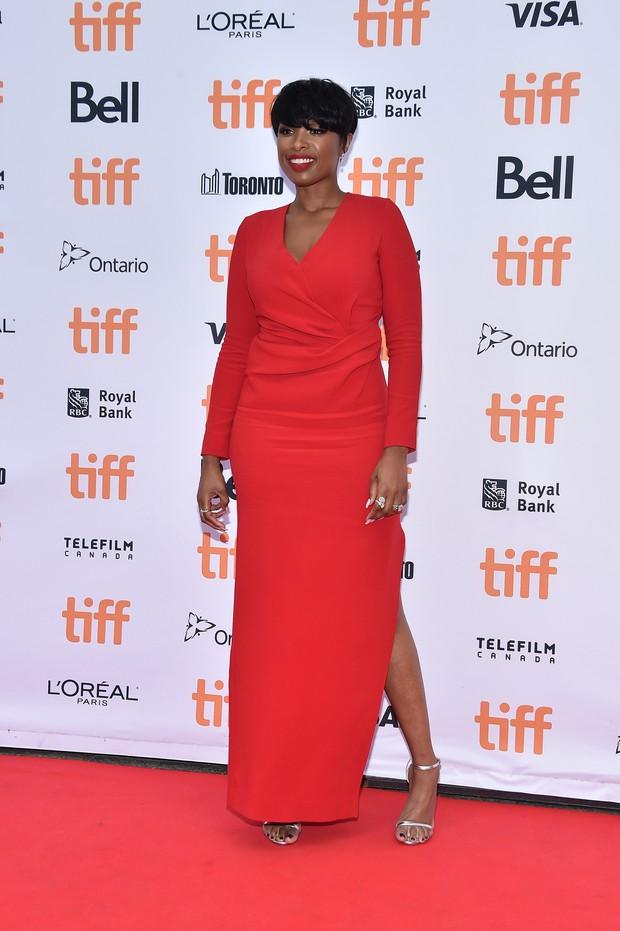 Jennifer Hudson no festival de cinema de Toronto, no Canadá (Foto: Mike Windle/ Getty Images/ AFP)