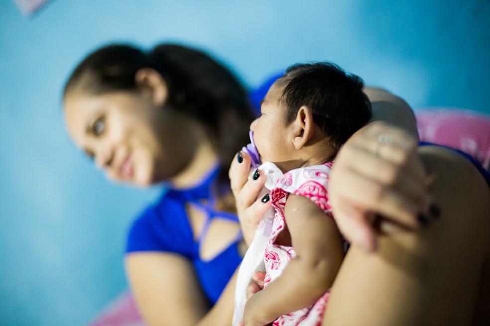 Brasil registrou 322 novos casos de microcefalia no ano de 2017 até 20 de maio (Foto: Jonathan Lins/G1)
