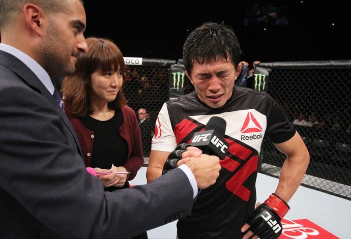 Takeya Mizugaki UFC (Foto: Getty Images)