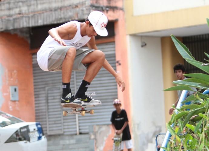 Click feito por Eduardo durante o rolê no Centro de Vitória (Foto: Divulgação/ TV Gazeta)
