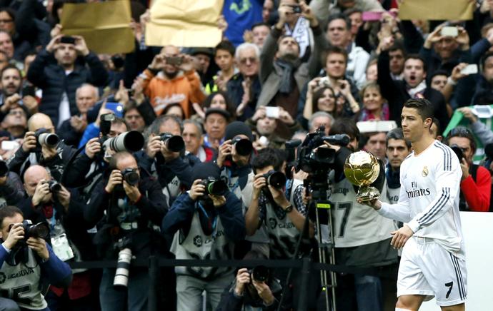 Cristiano Ronaldo Bola de Ouro Real Madrid (Foto: EFE)