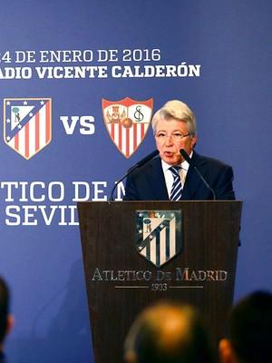 Enrique Cerezo presidente Atlético de Madrid (Foto: Reprodução / Facebook)