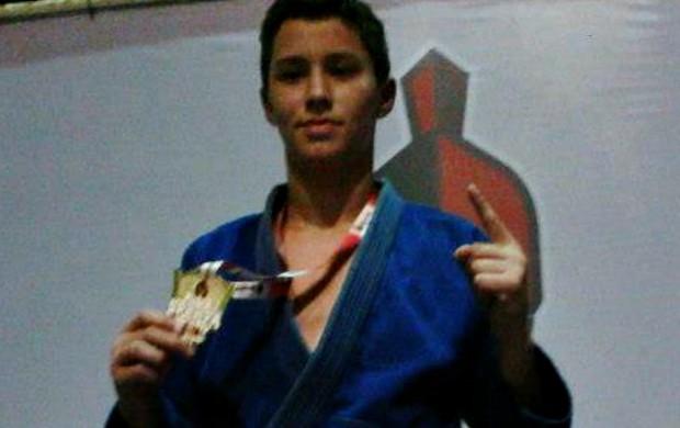 Gabriel Diniz, lutador de jiu-jítsu que sofreu lesão (Foto: Divulgação/Arquivo Pessoal)