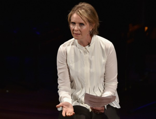 A atriz Cynthia Nixon (Foto: Getty Images)