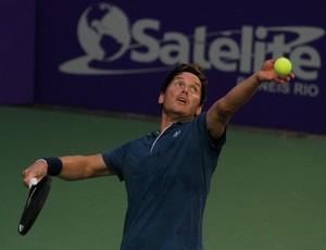 Thomas Enqvist vence compatriota Mats Wilander e avança à final do Torneio dos Grandes Campeões de Tênis (Foto: Divulgação)