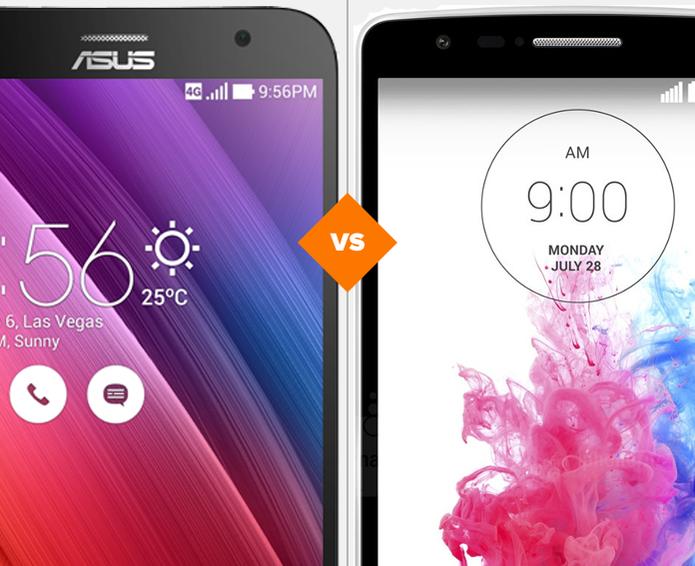 Zenfone 2 ou LG G3: descubra qual smartphone merece o seu investimento (Foto: Arte/TechTudo)