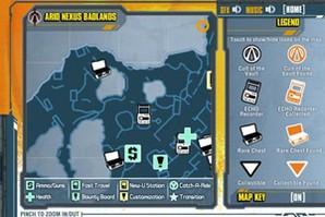 Borderlands 2 Official Map App