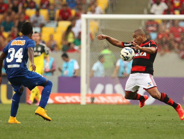 Anderson Pico estreou pelo Flamengo neste domingo (Foto: Gilvan de Souza/Fla Imagem)