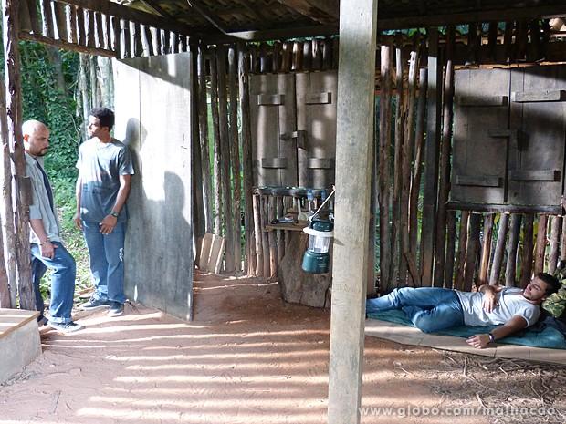 Bandidos planejam apagar o Sal depois do sequestro (Foto: Malhação/TV Globo)