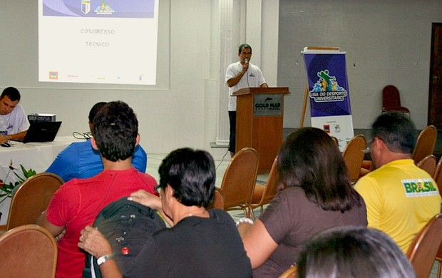 Congresso Técnico da Liga do Desporto Universitário=09-04-2012 (Foto: CBDU/Divulgação)