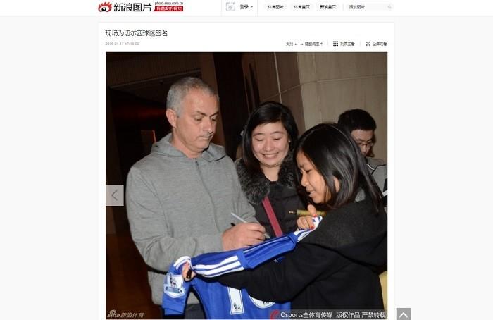 BLOG: Mais um na China? Mourinho viaja para Xangai e é tietado por fãs