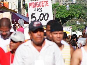 Cerveja Piriguete em Salvador (Foto: Egi Santana/G1)