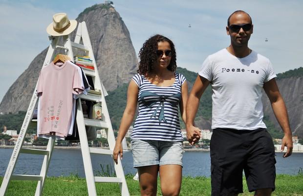 Gabriella Santoro e Gledson Vinicius, da Poeme-se (Foto: Divulgação)