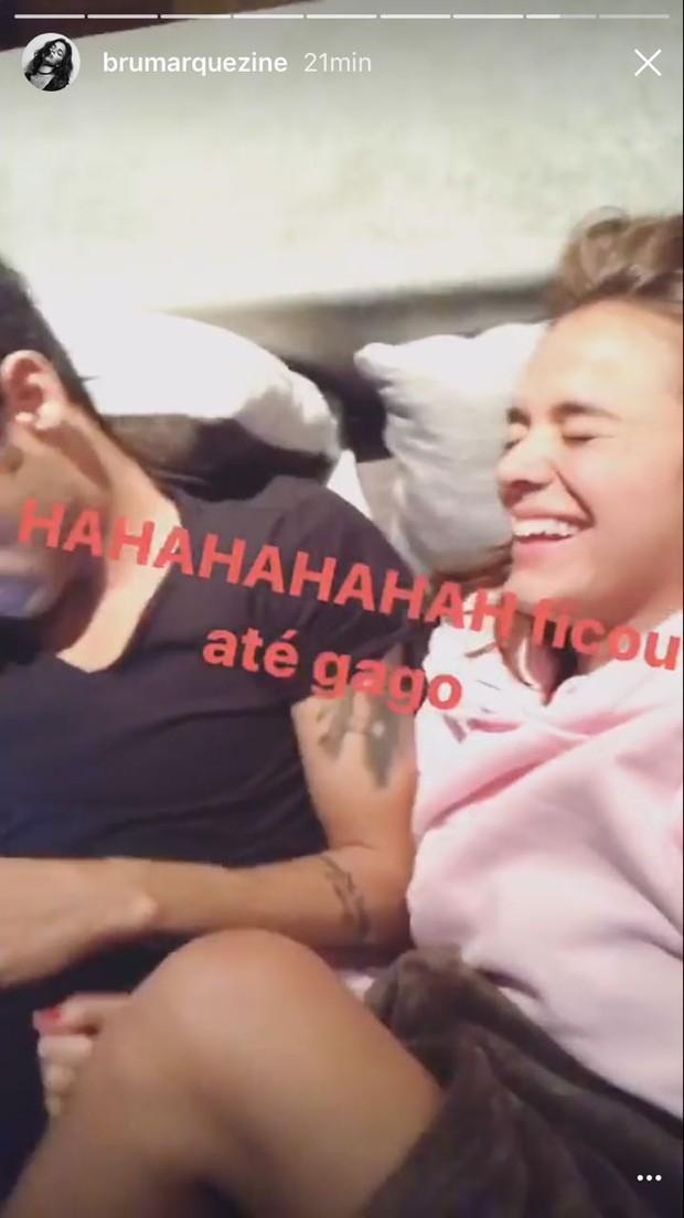 Neymar e Bruna Marquezine  (Foto: Reprodução/Instagram)