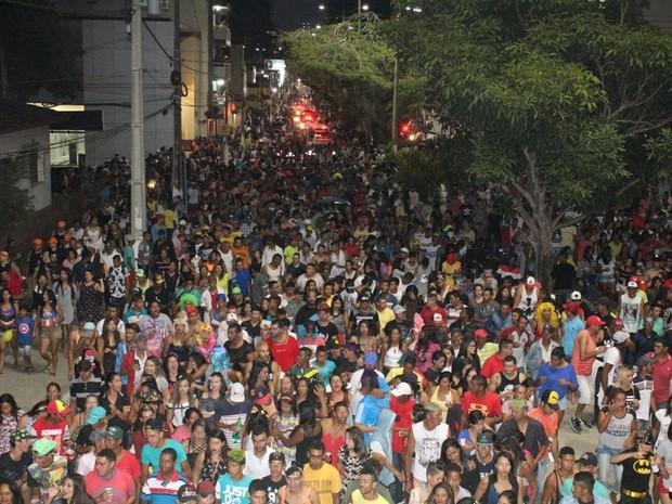 Desfila das Virgens de Garanhuns arrastou multidão  (Foto: Divulgação / Assessoria)