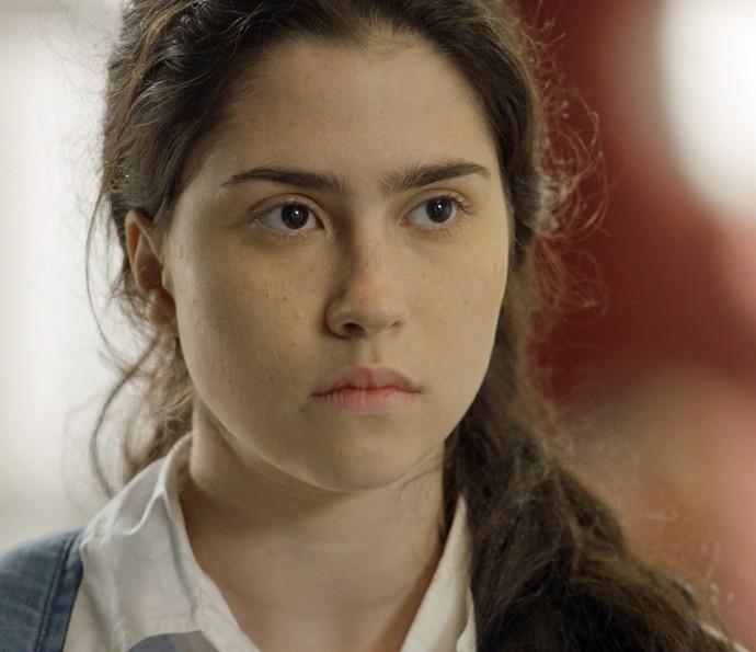 Débora fica com pena ao saber que Eliza terminou com Jonatas (Foto: TV Globo)