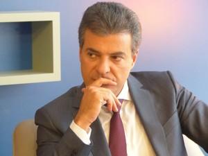 Candidato Beto Richa (PSDB) falou ao G1 nesta segunda-feira  (Foto: Adriana Justi / RPC TV)