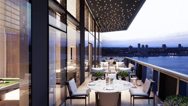 Escritório projeta conjunto residencial em formato de diamante (Foto: Divulgação)