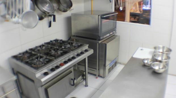 Cozinha da House of Food (Foto: Divulgação)
