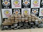 Polícia flagra mais de 60 kg de droga escondida em lataria de carro no PA