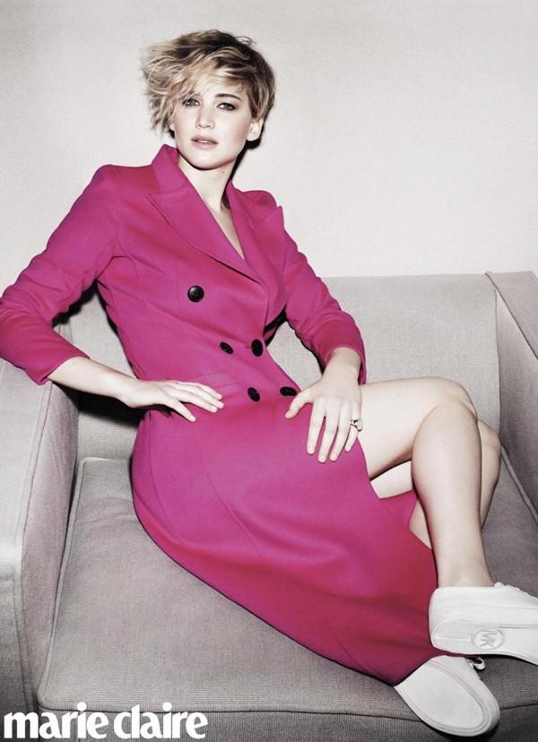 Jennifer Lawrence  (Foto: Reprodução / Jan Welters / Marie Claire US)