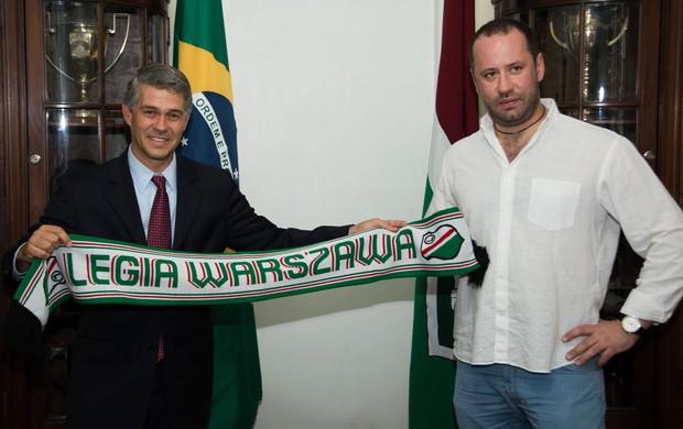 Peter Siemsem Fluminense parceria Legia Varsovia (Foto: Fluminense FC)