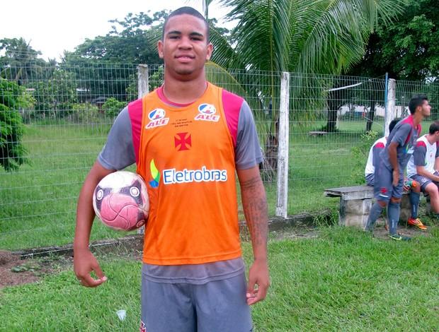 Jhon Cley do Vasco (Foto: Diego Rodrigues)