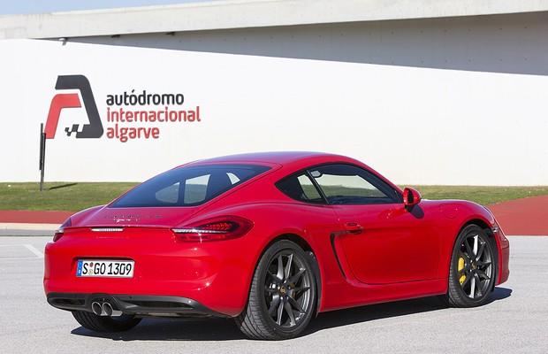 Porsche Cayman S (Foto: Divulgação)