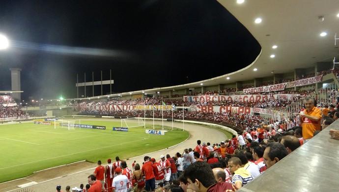 CRB torcida (Foto: Viviane Leão/GloboEsporte.com)