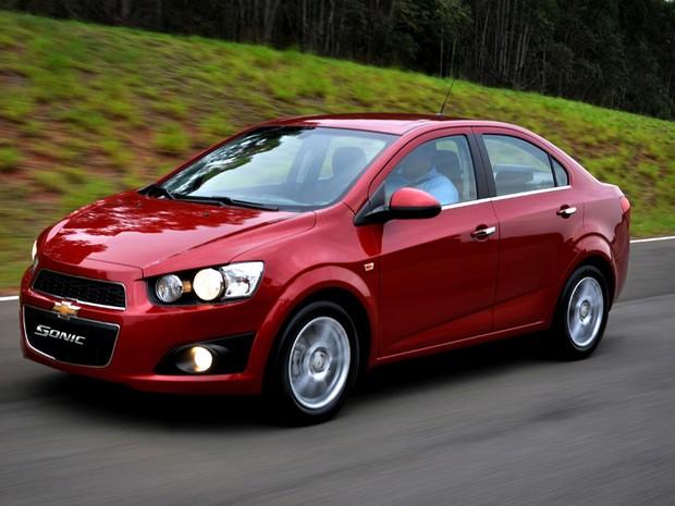Chevrolet Sonic assume o posto de compacto 'refinado' da GM (Foto: Divulgação)
