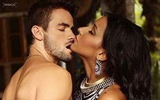 Rafael Licks e Talita Araújo