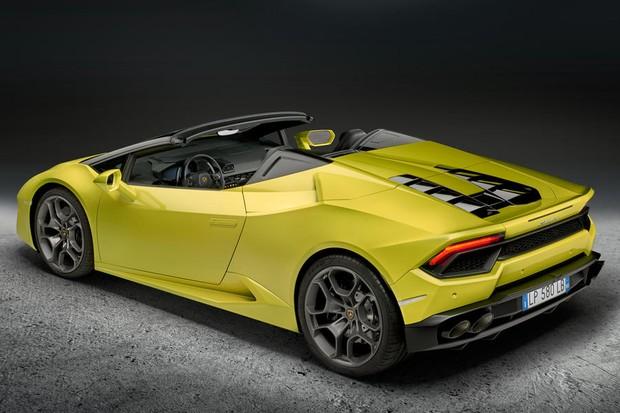 Lamborghini Huracan RWD Spyder (Foto: Divulgação)