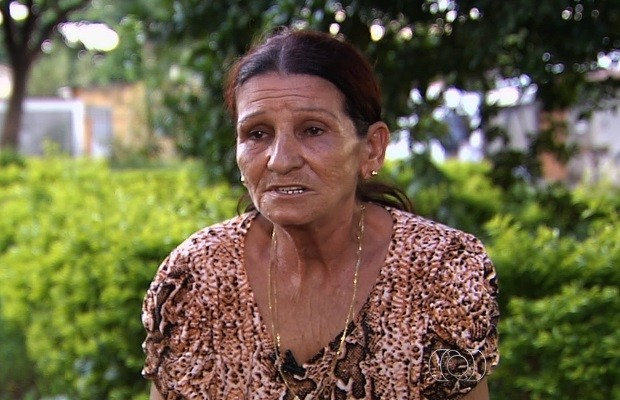 Mãe de vítima do 1º júri de suposto serial killer diz: 'Espero que pague' em Goiás (Foto: Reprodução/TV Anhanguera)