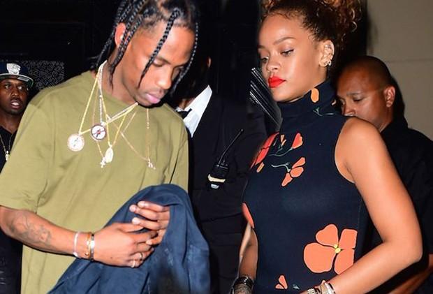 Rihanna e TRavis Scott (Foto: Reprodução)