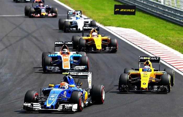 Felipe Nasr no GP da Hungria