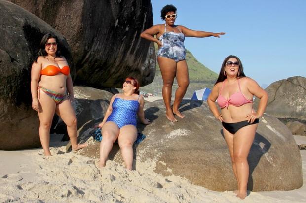Mariana Xavier, Simone Gutierrez, Cacau Protásio e Fabiana Karla (Foto: Janderson Pires / Divulgação)