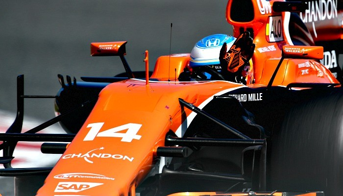 Fernando Alonso, sétimo colocado no grid do GP da Espanha