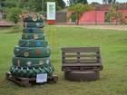 Alunos do IFTO criam decoração natalina com materiais reutilizáveis