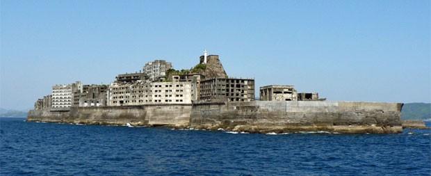 Ilha de Hashima (Foto: Hisagi/Creative Commons)