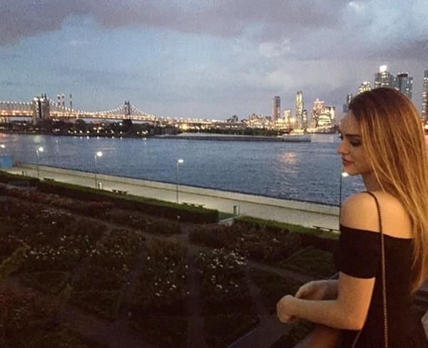 Isabelle passou uma temporada em Nova York para fazer um curso de conversação em inglês (Foto: Reprodução/Instagram)