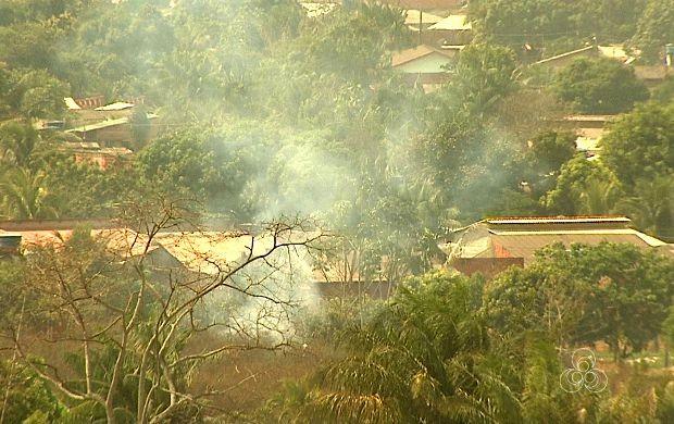 Em menos de 2 meses, Rio Branco registra mais de 550 incêndios (Foto: Acre TV)