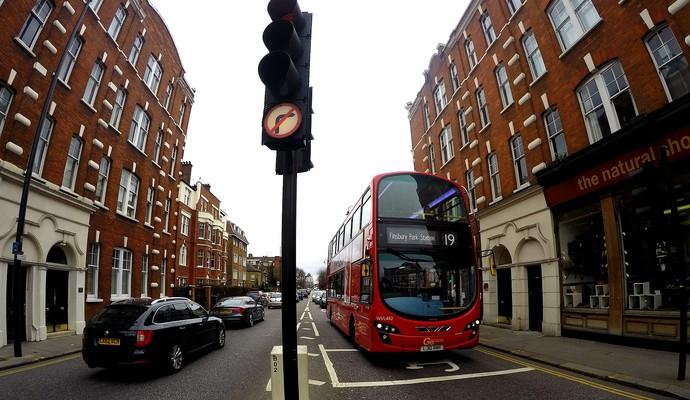 Bairro Chelsea em Londres (Foto: Cassio Barco)