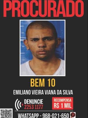 Bem 10 é acusado de ser mandante de morte de casal no Rio (Foto: Disque-Denúncia/Divulgação)