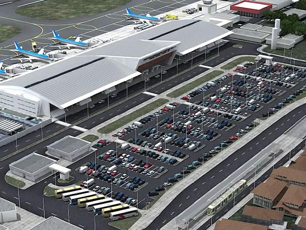 Aeroporto Marechal Rondon (Foto: Reprodução/Secopa)
