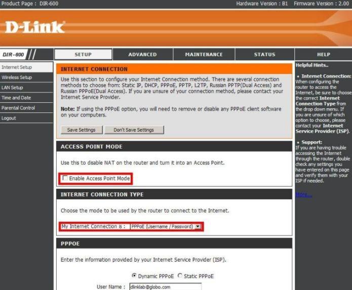Neste menu você configura a conexão tipo PPPoE (Foto: Reprodução/D-Link) (Foto: Neste menu você configura a conexão tipo PPPoE (Foto: Reprodução/D-Link))