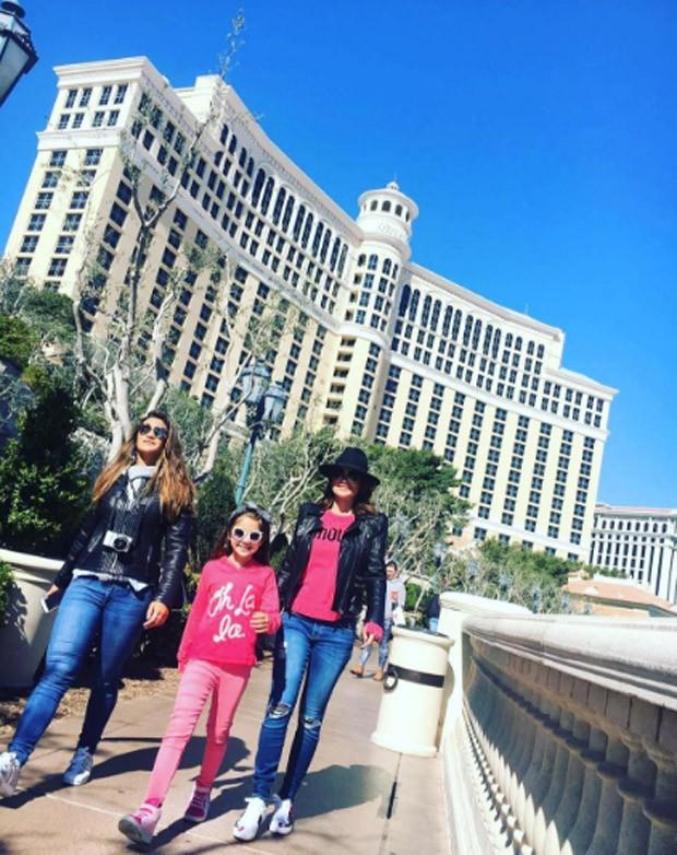 As férias de Otaviano Costa, Flávia Alessandra, Giulia Costa e Olívia (Foto: Reprodução/Instagram)